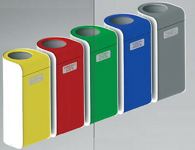 Barrel Container Waste Collection Lid Tilting Colourful