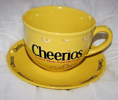 2003 General Mills CHEERIOS Oversize Cup and Saucer by Sherwood Brands