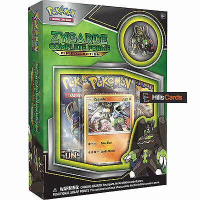 Pokemon Zygarde Complete Forme Collection Box: Sun & Moon: Booster Packs + Card