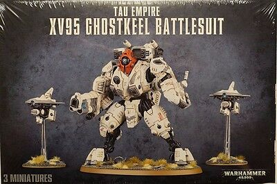 Games Workshop Warhammer 40K 56-20 Tau Empire XV95 Ghostkeel Battlesuit NEU OVP