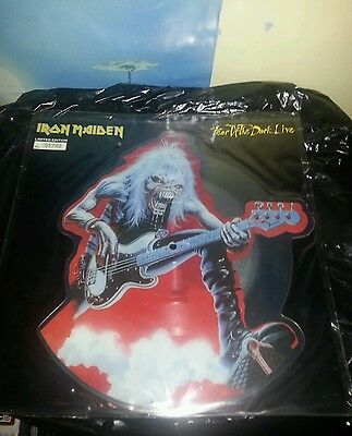 Iron maiden fear of the dark live ltd edition 12 inch picture disc single