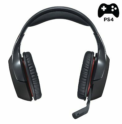 Logitech G930 Wireless 7.1 Surround Sound Gaming Headset for PC PS4
