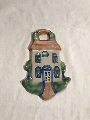 """M. A. Hadley House Ornament 6 ¾"""" Signed USA"""
