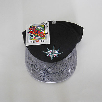 Ken Griffey Jr. Signed New Era Official Mariners Hat Cap 189/200 Uda