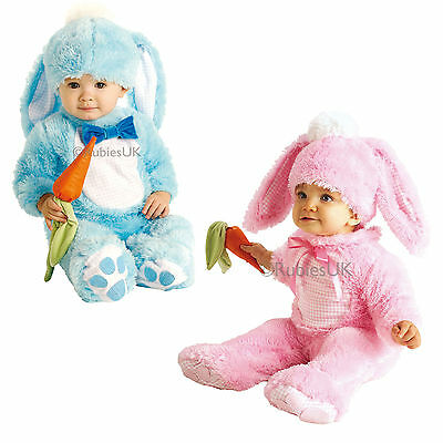 Girls Boys Lil Wabbit Costume Rubies Baby Fancy Dress Rabbit Toddler Outfit