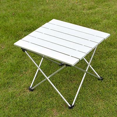 Aluminum Folding Table Portable Roll Up Table Folding Outdoor Camping Indoor /