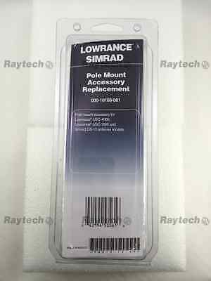 LOWRANCE 10169-001 Pole Mount Replacement for LGC-4000 LGC-16W Simrad GS-15