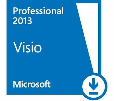 Scrap PC/Laptop Dell/HP + Microsoft Visio 2013 PRO 32 / 64 bit COA License Key