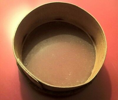 Antique Kitchen Sieve - Traditional Wooden Sifter 8 Inches