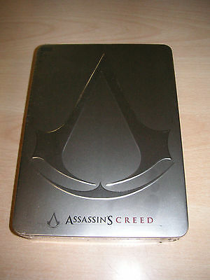 Boitier promo Steelbook Steelbox Assassin's Creed collector neuf  Steel book plv