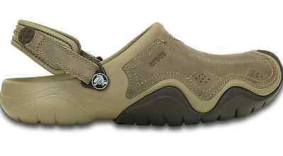 CROCS MENS Swiftwater Leather Clog *SALE* 36.00!!