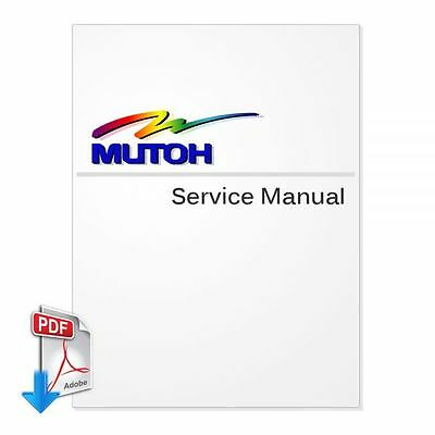 PDF File - MUTOH ValueJet VJ-1608 Series English Service Manual - send by email
