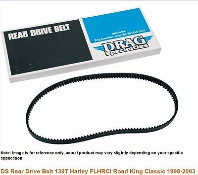 DS Rear Drive Belt 139T Harley FLHRCI Road King Classic 1998-2003