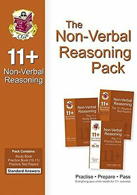 11+ Non-Verbal Reasoning Bundle Pack - Standard  by CGP Books Paperback Book New
