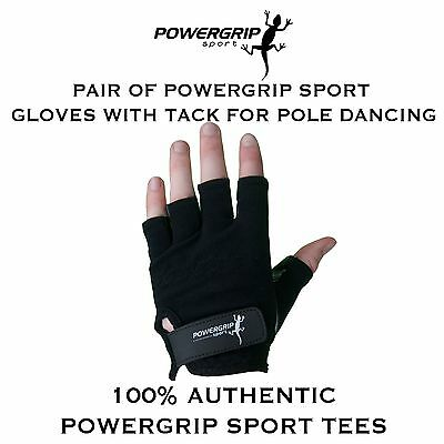 Pole Dance / Fitness Gloves With Tack For Pole Dancing by Powergrip Sport
