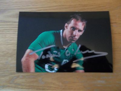 Tomas O'Leary, British & Irish Lion Rugby Player, Signed 6 X 4 Photo