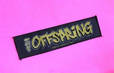 Offspring Official 2001 Strip Patch Uk Import Sew-On Not Pin Shirt Cd Poster Lp