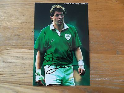 Neil Francis, Ex Ireland Rugby Player, Signed 6 X 4 Photo