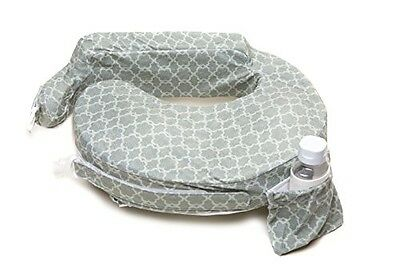 My Brest Friend Nursing Pillow Deluxe Slipcover Flower Key Grey Fashionable Soft