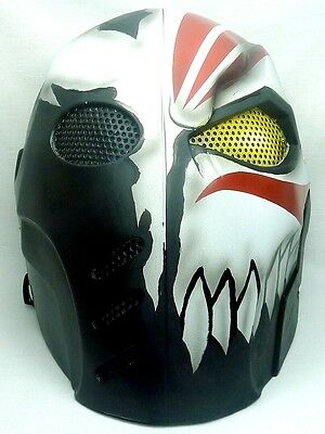 "Army of Two ""Hollowfication"" Custom Fiberglass Paintball / Airsoft Mask"