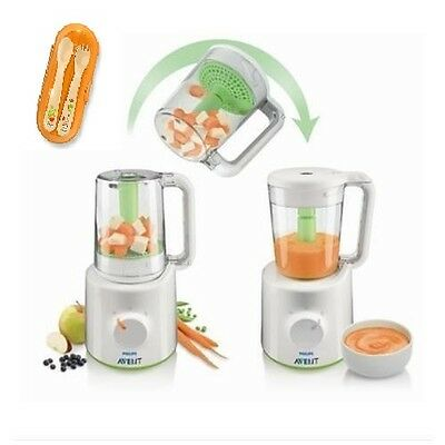 Omogenizzatore Baby Pappa Avent Philips Easy Pappa 2 In 1