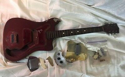 1960's Vintage Kay Vanguard Electric Guitar Project