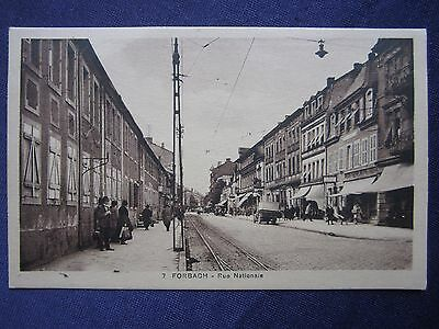 57 CPA FORBACH rue Nationale - CARTE POSTALE ANCIENNE -