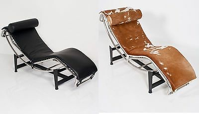 Repliche Mobili Bauhaus.Poltrona Chaise Longue Design Bauhaus Replica Lcle Corbusier Chair Pelle
