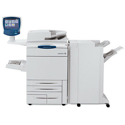 Xerox WorkCentre 7775 Tabloid-size Color Copier Printer Scanner Finisher 2 Trays