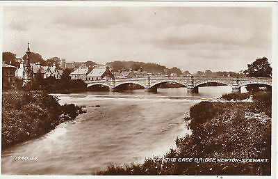 The Cree Bridge, NEWTON STEWART, Wigtownshire RP