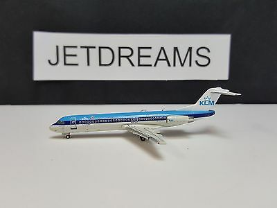 1/400 Klm Royal Dutch Fokker F-28-100 / F-100 1990's Colors Ph-Klc Jc Wings