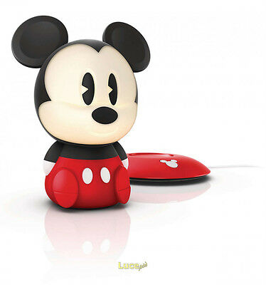Lucina Da Notte Disney - Mickey Mouse Soft Touch A Induzione Philips