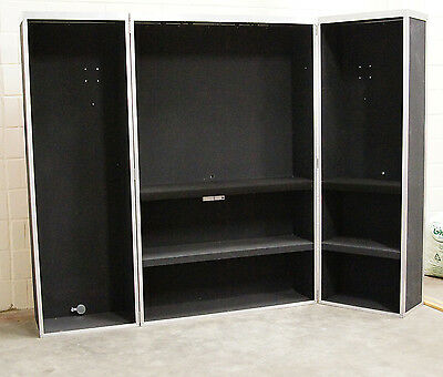 Versatile Exhibition Trade Show Stand or Shop Display Cabinet - Easily Adaptable