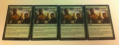 4 x MTG Card - ORNAMENTAL COURAGE - Kaladesh - NEW