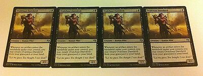 4 x MTG Card - OVALCHASE DAREDEVIL Uncommon - Kaladesh - NEW