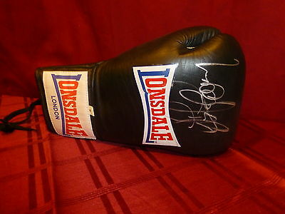 Gerry Cooney Signed Boxing Glove