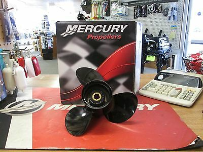"Mercury ""Black Max"" 3-Blade Aluminum Propeller Part #48-896896A40"