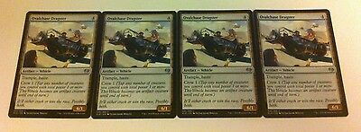 4 x MTG Card - OVALCHASE DRAGSTER Uncommon - Kaladesh - NEW
