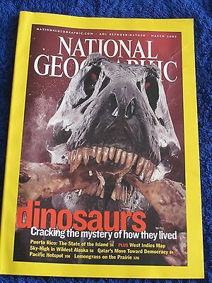 National Geographic Magazine March 2003.