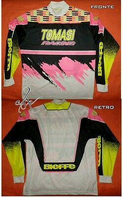 Maglia BIEFFE Tomasi Racing (XL) per moto Cross Enduro Motard Mtb