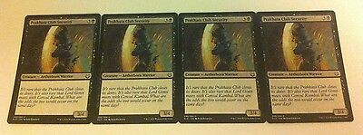 4 x MTG Card - PRAKHATA CLUB SECURITY - Kaladesh - NEW