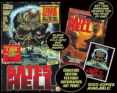 LUCIO FULCI'S GATE OF HELL #1 With EIBON SLEEVE SIGNED EDITION Only 1,000!