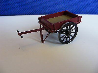 LMS (London Midland & Scottish) Station Cart - O Gauge Painted Metal Model