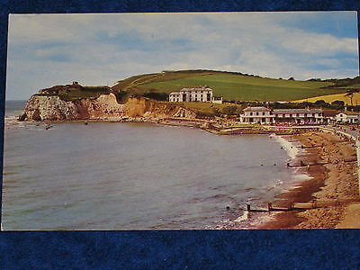 Freshwater Bay - Isle Of Wight Vintage Postcard.