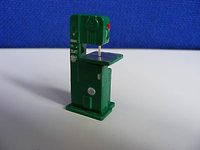 Cutting Band Saw - Machine Shop Equipment - 1:43 O Gauge Painted Metal Model