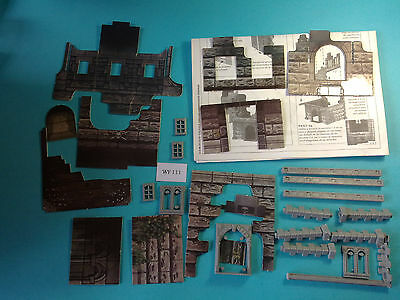 Mordheim/Warhammer Fantasy - Scenography Ruined Building - WF111