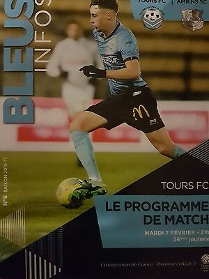 French Ligue 1, Ligue 2 and League Cup match programmes