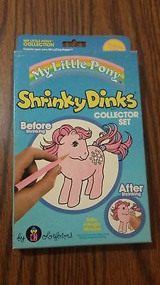RARE Vintage Colorforms My Little Pony shrinky dinks 1983 MIB Sealed
