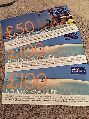 £250 Classic Collection Holiday Vouchers