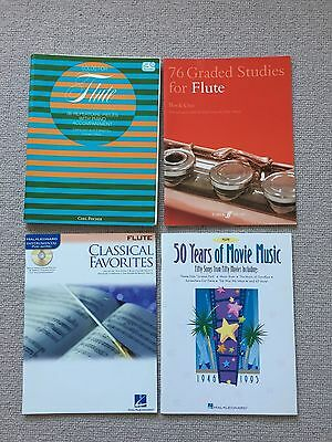 Flute Music - Solos, Graded Studies, Classical Favorites, 50 Years Movie Music